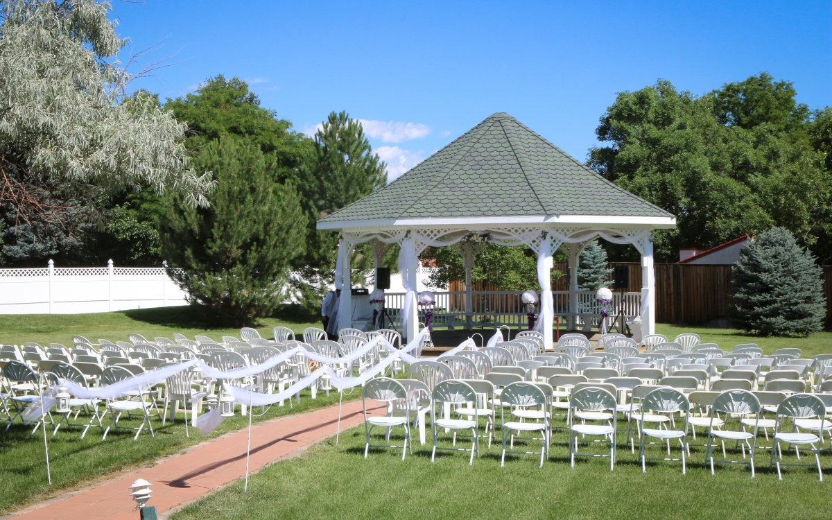 Colorado outdoor wedding venue