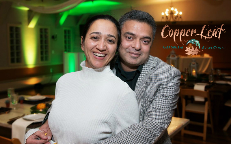 Vipul Seth and Madhoo Seth Copper Leaf Gardens Event Center