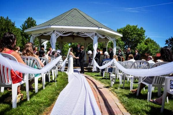 Best outdoor wedding venues Colorado